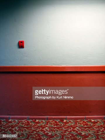 Motel hallway