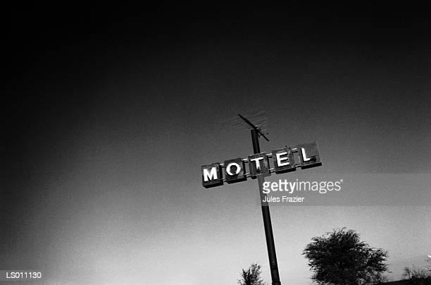 Motel Sign During the Day