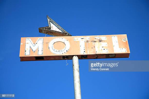 Motel Sign Route 66 New Mexico