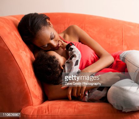 Mother and Baby : Stock Photo