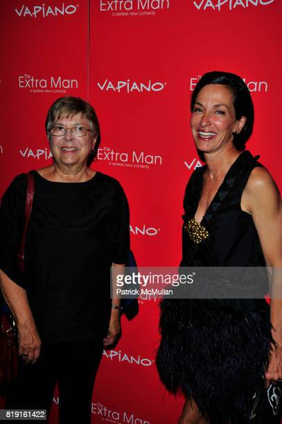 Mother and Cynthia Rowley attend Vapiano hosts the New York Premiere of THE EXTRA MAN red carpet arrivals and afterparty at Village East Cinema and...