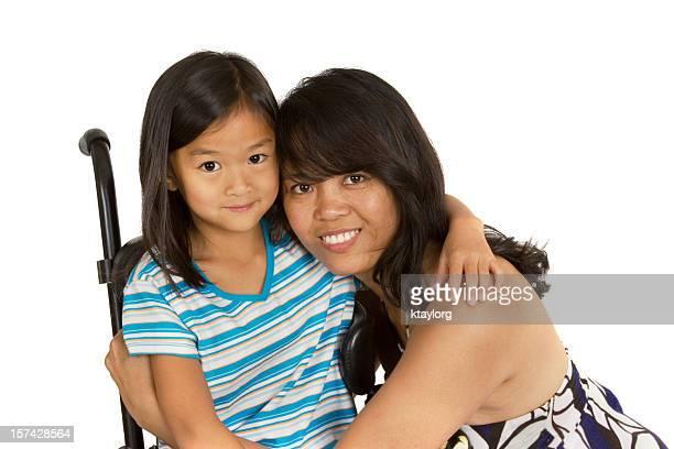 Madre e figlia, Abbracciare