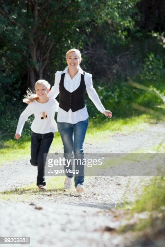 Mother and daughter enjoy time together : Stock Photo