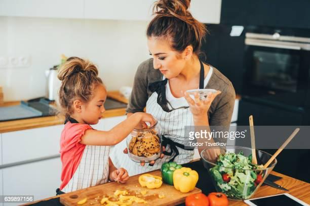 母と娘のキッチン