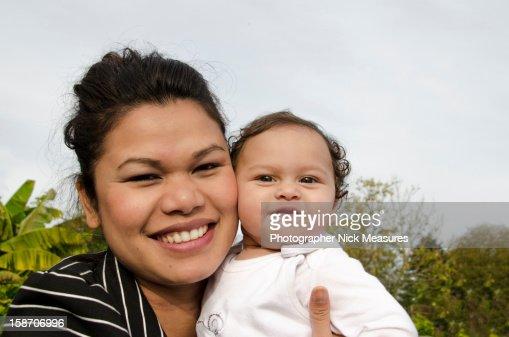 Mother and daughter : Foto de stock