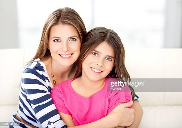Mère et sa fille.