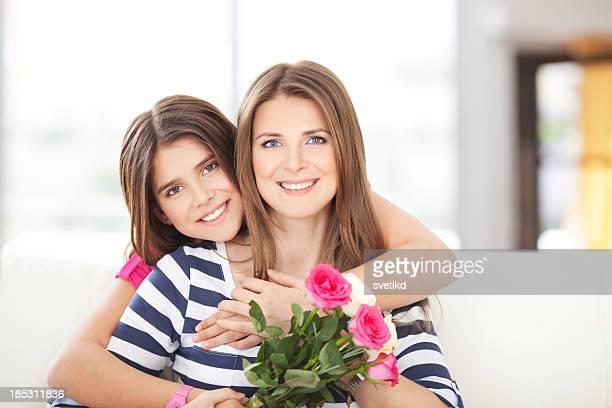 Mutter und Tochter.