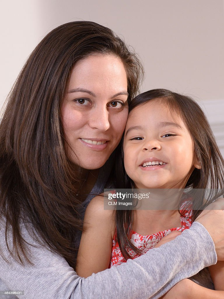 Mother and Daughter Portrait : Stock Photo