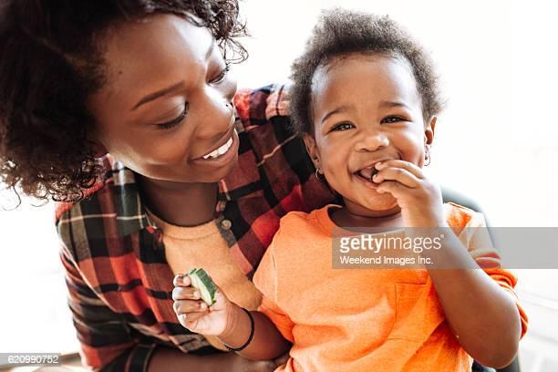 portrait de mère et fille