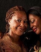 Mãe e filha Retrato