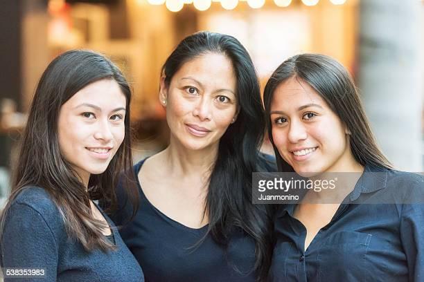 Mutter und Töchter