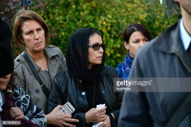 mother and family of yacine ben kahlal in front of the bobigny's court