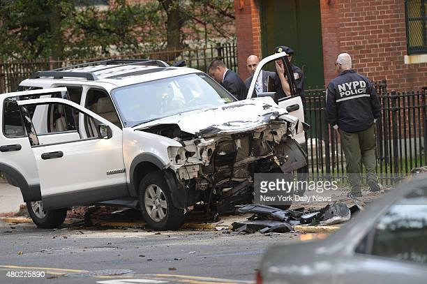 A mother and her young daughter were killed and four others were injured in a twocar collision in Queens The 42yearold woman and her two daughters...