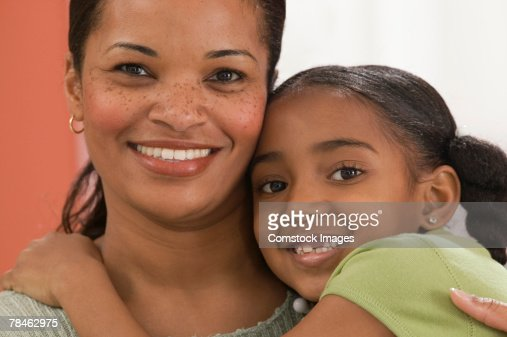Mother and little girl : Stock Photo