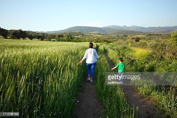 Madre e figlio, escursioni