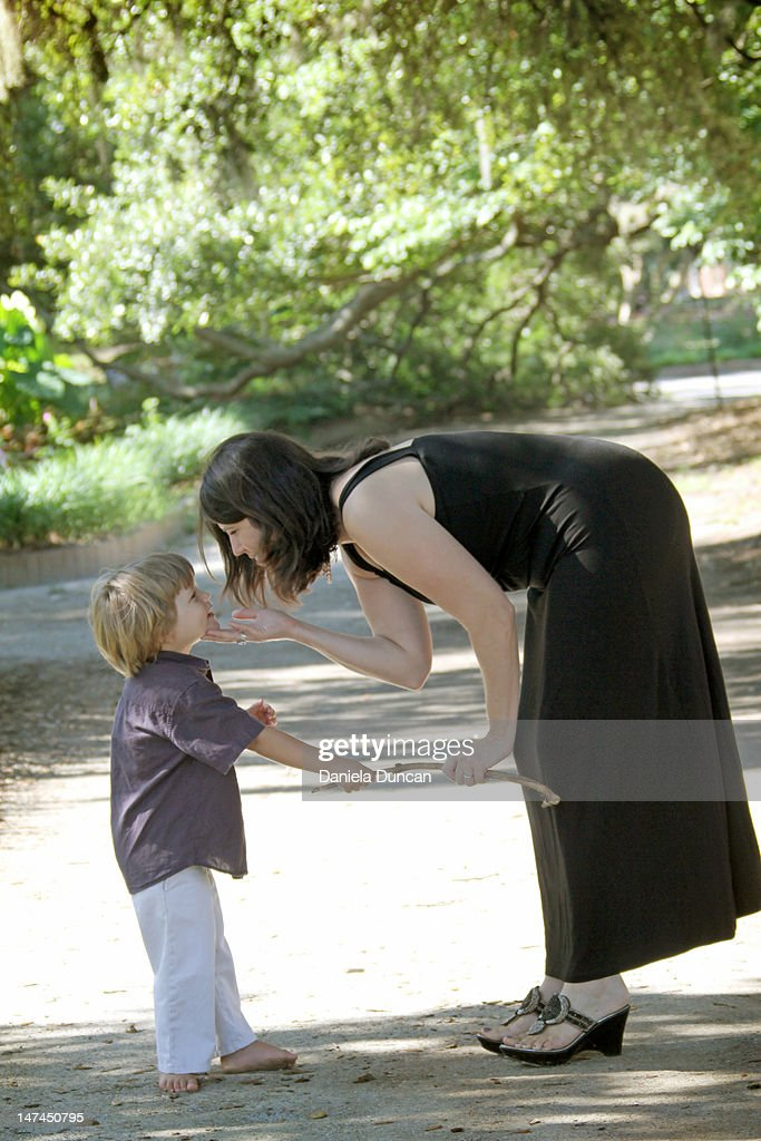 Mother and son : Stock Photo