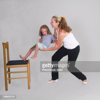 Mother Catches The Daughter Awkward Mom catches
