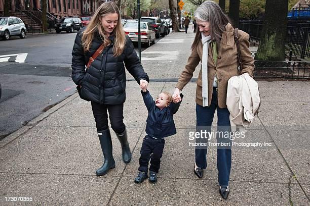Mother, Grandmother, Child