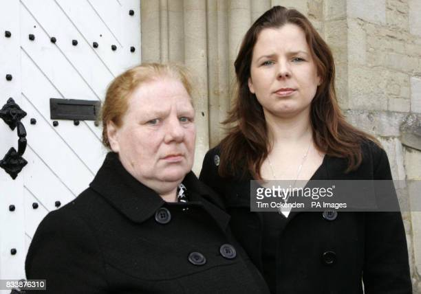 Mother Mrs Jean King and Violet Shabytah sister of Cpl John Johnston Cosby who died in Iraq An army corporal told an inquest today it was a...