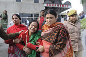 IND: Two Kids Die In Noida School Wall Collapse