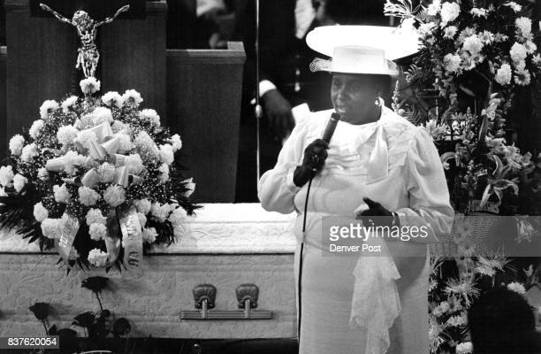 Mother of Karla Ricketts was composed enough to tell assembled mourners that she had been blessed for the presence of her daughter and that she...