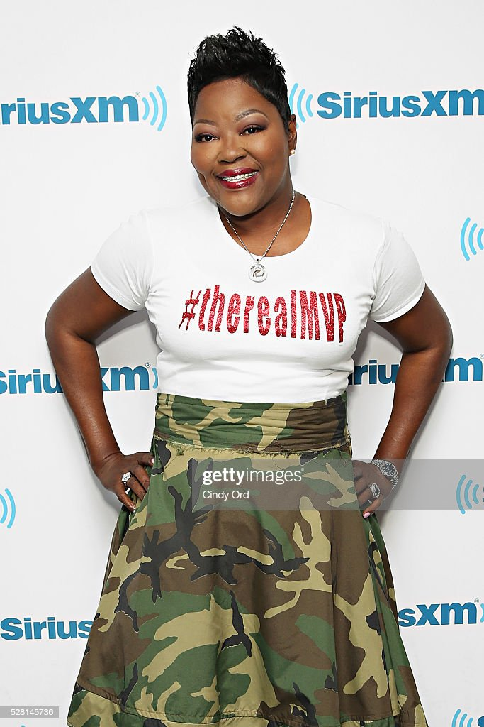 Mother of professional basketball player Kevin Durant, Wanda Durant visits the SiriusXM Studios on May 04, 2016 in New York, New York.