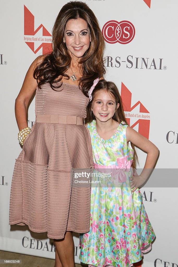 Mother of the year recipient Lea Porter (L) and daughter Cory attend The Helping Hand of Los Angeles annual mother's day luncheon at Beverly Hills Hotel on May 10, 2013 in Beverly Hills, California.