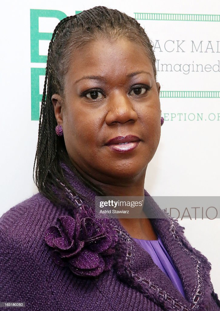 Mother of Trayvon Martin, <a gi-track='captionPersonalityLinkClicked' href=/galleries/search?phrase=Sybrina+Fulton&family=editorial&specificpeople=9024062 ng-click='$event.stopPropagation()'>Sybrina Fulton</a>, attends Black Male: Re-Imagined II at Ford Foundation on March 5, 2013 in New York City.