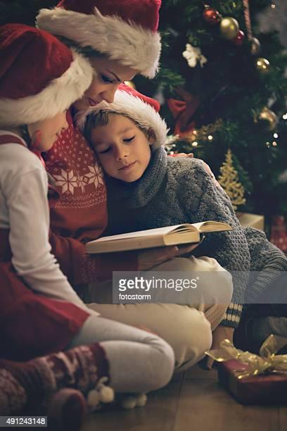 Mother リーティングクリスマスストーリーをお子様