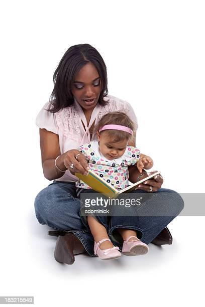 Mother Reading To Her Toddler