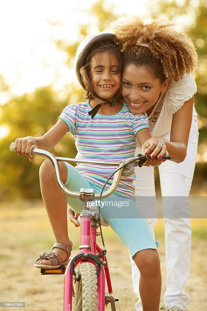 how to teach a child to ride a bicycle