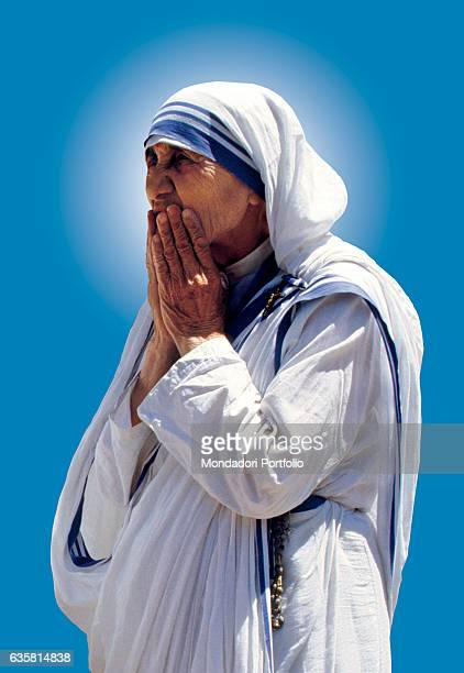 Mother Teresa of Calcutta Albanian catholic woman Peace Nobel Prize Laureate and founder of the religious congregation of the Missionaries of Charity...