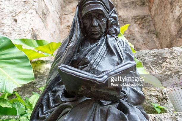Mother Teresa of Calcutta statue or monument in Old Havana Mother Teresa was a Roman Catholic religious sister and missionary who lived most of her...