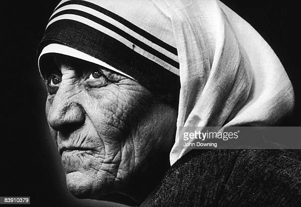 Mother Teresa of Calcutta visits St James' Church in Piccadilly London 8th July 1981