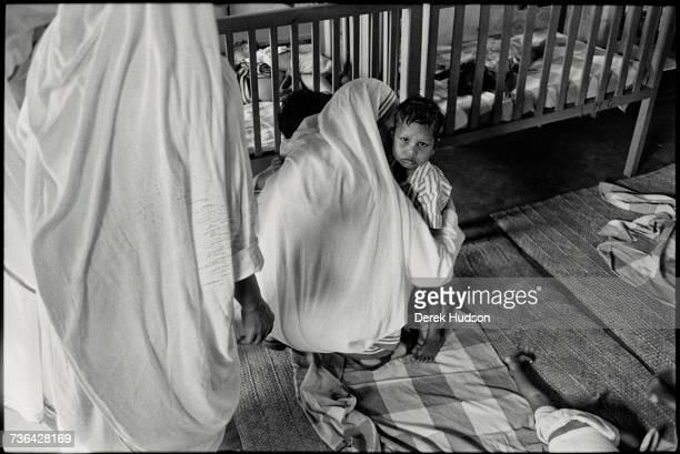 Mother Teresa or Saint Theresa of Calcutta the Roman Catholic nun missionary who founded the Missionaries of Charity / Getty Images