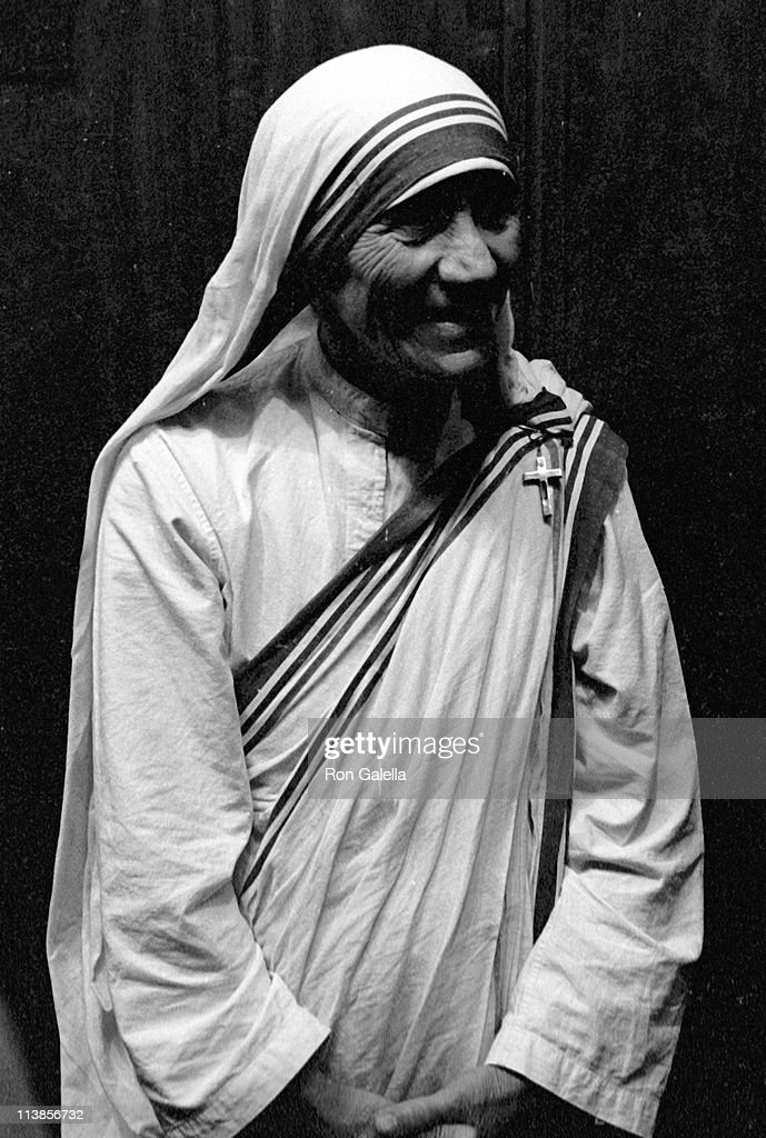 Mother Theresa sighted on October 16, 1971 at the Shoreham Hotel in Washington, D.C.