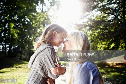 mother with her little girl : Stock Photo