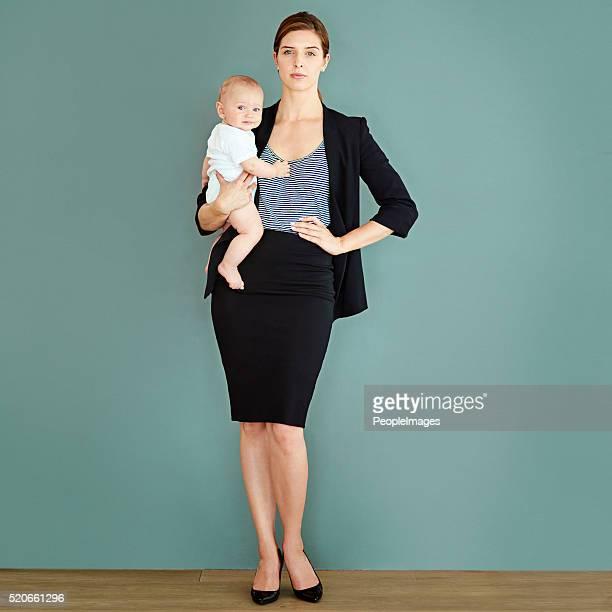 A maternidade e a minha carreira são igualmente importantes para mim
