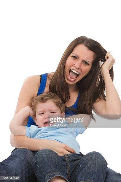 motherhood and stress concept