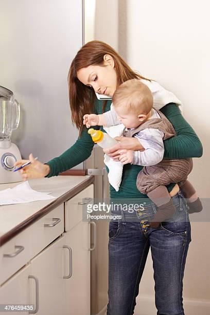 Motherhood is a real juggling act!