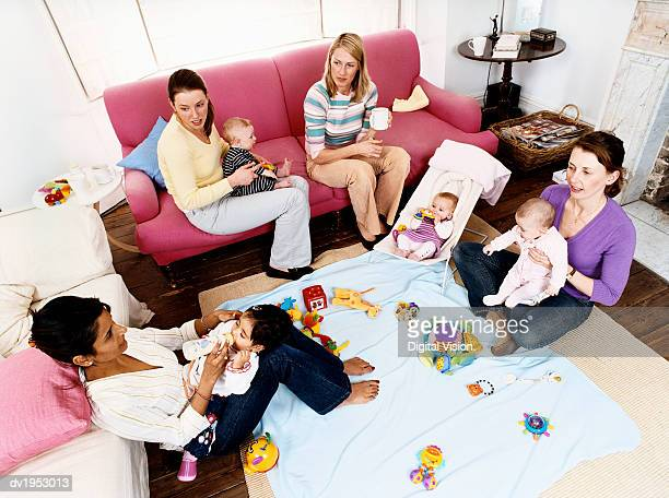 Mothers and Babies in a Sitting Room