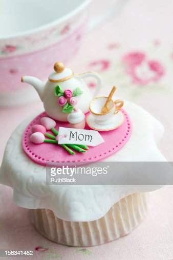 Mother's day cupcake : Stock Photo