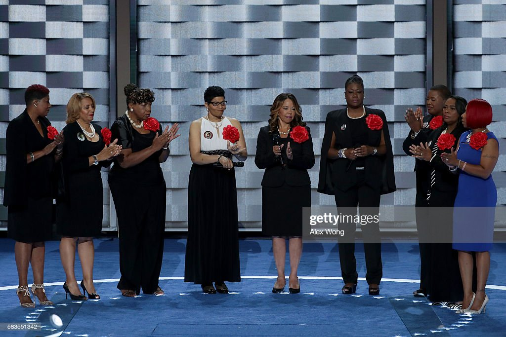 Mothers of the Movement Maria Hamilton mother of Dontre Hamilton Annette NanceHolt mother of Blair Holt Gwen Carr mother of Eric Garner Geneva...