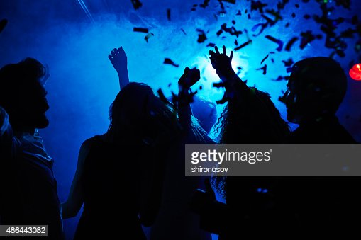 Motion and dance : Stock Photo
