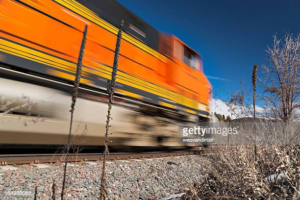 Motion Blur Lokomotive