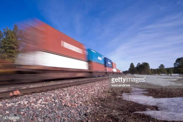Motion Blur Train