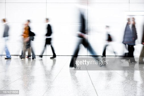 Motion Blurred People Stock Photo | Getty Images