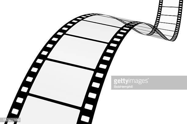 Motion Picture Film auf Weiß