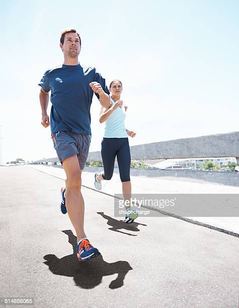 Motiver mutuellement sur la course