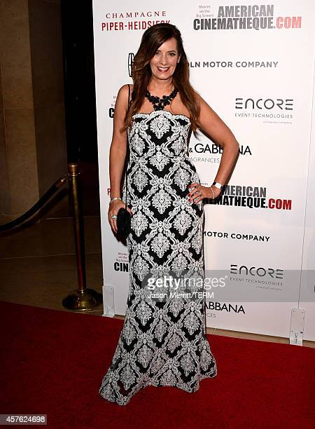 Motivational speaker Lisa Haisha attends the 28th American Cinematheque Award honoring Matthew McConaughey at The Beverly Hilton Hotel on October 21...